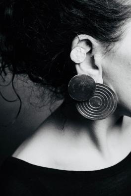 3 RUND earring